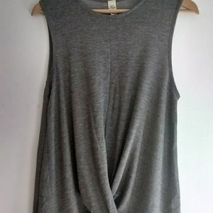 Lazy Sundays Anthropologie Cross Front Tank